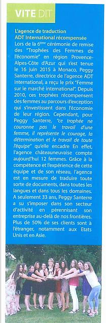 Revue de Presse A.D14